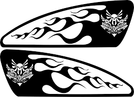 Harley Decals Airbrush Gas Tank Stencils Vinyl Bike Drawing Stencil Vinyl Biker Art