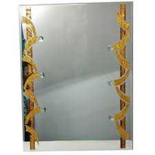 trendy wall glass mirror at rs 1200