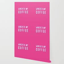 my coffee vine retro typography