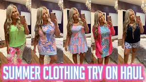 Huge Lilly Pulitzer Summer Try On Haul ...