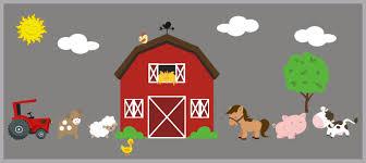 Farm Animal Decals Farm Nursery Theme Country Animal Decals Nurserydecals4you