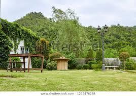chair table decoration garden terrace