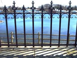 Pin By Salem Fence Co On Wrought Iron Finials And Accessories Wrought Iron Fences Iron Fence Fence Styles