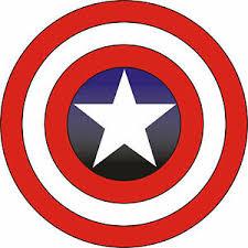 Captain America Vinyl Sticker Decal 6 Full Color Ebay