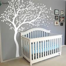 Wall Decal Vinyl Sticker White Tree Large Tree Wall Decor Desgin Color Wall Mural Nursery Kid Room Bedroom Playroom Posterww 340 Cj191219 Large Wall Decals Cheap Large Wall Sticker From Quan09 32 79