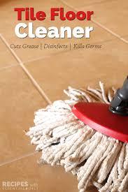 homemade tile floor cleaner recipe