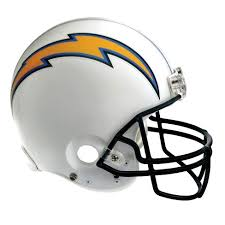 Nfl White Helmet Fathead Football Wall Accent Sticker San Diego Chargers Target