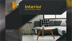 interior design flyer templates word