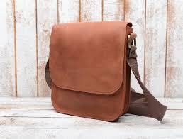 leather bag shoulder bag for men mens