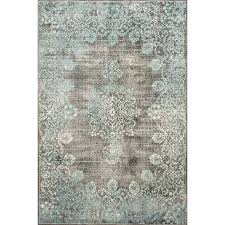 david persian inspired teal area rug