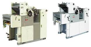 single color offset printing machine in