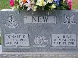 "Avis ""June"" Fowler New (1935-2011) - Find A Grave Memorial"