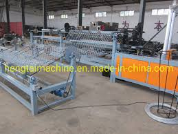 China Chain Link Fence Weaving Machine For Building Fences China Chain Link Machine Fence Machine