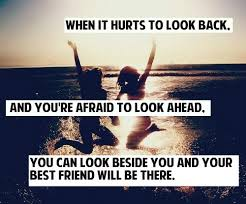 beside you best friends forever quote image by