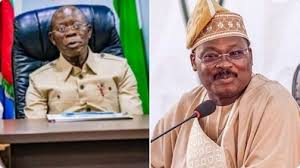 Oshiomhole Suspension: APC Names Ajimobi As Acting National Chairman