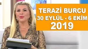 TERAZİ BURCU | 30 Eylül - 6 Ekim 2019 | Nuray Sayarı'dan haftalık burç  yorumları - YouTube