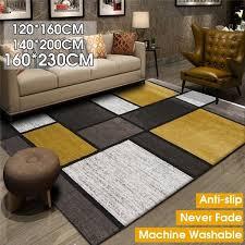 160x230 140x200 120x160cm Oversized Anti Slip Soft Geometric Pattern Carpet Large Size Home Area Rugs For Living Room Kids Bedroom Floor Decor Wish