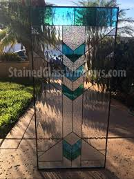 gold coast leaded stained glass window