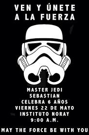 Invitaciones De Star Wars Para Imprimir Dewall Debujos