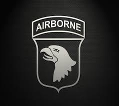 101st Airborne Division 5 Cut Vinyl Decal Gruntworks