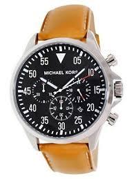 michael kors black chronograph mk8333