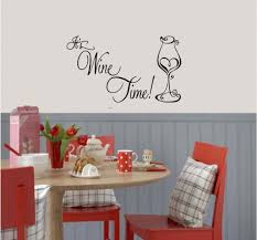 It S Wine Time Wall Decal Body Jewelry Baby Girls Hair Bows Home Wall Decoration Baby Girl Hair Bows Wall Decals Decor
