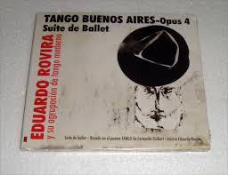 Eduardo Rovira Tango Buenos Aires Opus 4 Cd Nuevo / Kktus   Mercado Libre