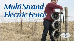 Multi Strand Electric Fence Youtube