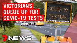 Coronavirus: Victorians queue for COVID ...