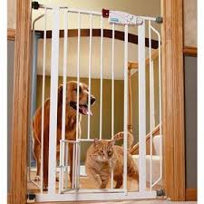 I Will Be Getting These For Baby Gates So The Cat Can Still Get Through Genius Extra Tall Walk Through M Tall Pet Gate Dog Gate With Door Extra Tall Pet Gate