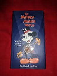 mickey mouse watch coffee table book