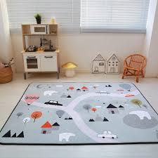 Buy Kids Carpet Playmat Rug City Life Great For Playing With Cars And Toys Play Learn And Have Fun Safely Kids Baby Children Educational Road Traffic Play Mat For Bedroom