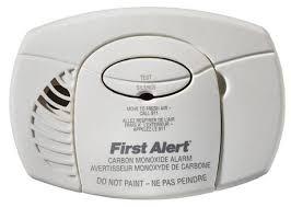 battery carbon monoxide alarm