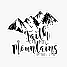 Faith Can Move Mountains Photographic Print By 3milyfromspace Redbubble