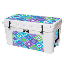 Mightyskins Protective Vinyl Skin Decal For Yeti Tundra 75 Qt Cooler Wrap Cover Sticker Skins Pastel Argyle You Can Find More Cool Wraps Cooler Yeti Tundra