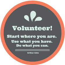inspirational quotes about volunteering quotesgram