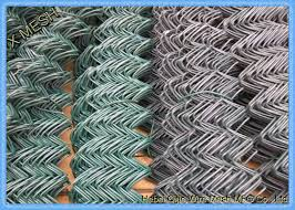 5 Feet Galfan Coated Steel Chain Link Fence Panels Chain Wire Fencing