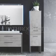 solitaire 9025 tall bathroom storage