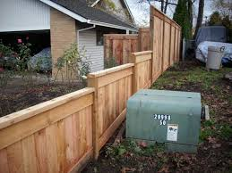 Side Fence Idea Fence Planning Privacy Landscaping Fence Design