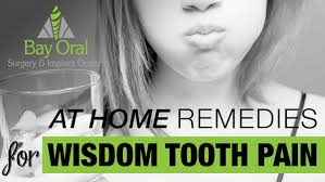 wisdom tooth pain remes bay