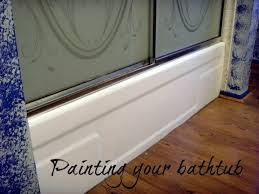 paint a bathtub with paint