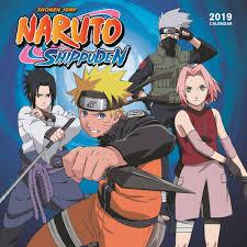 Naruto 2019 Wall Calendar-Calendars.com-Books & Gifts - FoodSniffr ...