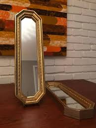 hollywood regency gold gilt style resin