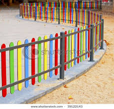 Playground Fence Backyard Fences Fence Design Garden Fence Panels