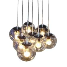 clear glass shade pendant lamp