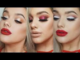 make up for a red dress 3 ideas