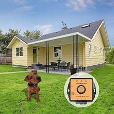 Pet Fencing System Wireless Dog Fence In Ground Radio Fence With 2 7000 Sq Metre Coverage Boundary Marks And Rechargeable Receiver Collar Walmart Com Walmart Com