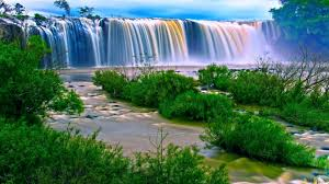 49 moving waterfall wallpaper on