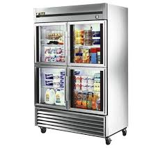 gorgeous glass door refrigerator