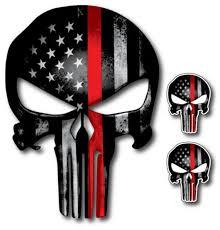 6 Or 8 5 Honduras Skull Flag Car Bumper Sticker Decal 3